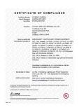 UL certificate E345524