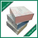 Custom printed color gift box