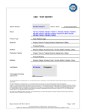 CE report for solar house number lights by TUV