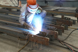Step5 of Steel Structure Processing Technical Flow-Welding