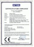 CE-EMC for stainless steel ultrasonic cleaner models