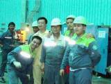 Installed the machine in HanJin Heavy Industries&Construction CO.,LTD Subic Bay in the Philippines.