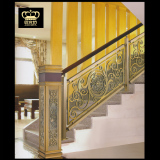 Aluminum Brass Stair Railing