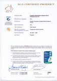 AGA certificate for H1107 and H1207