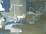 Dental unit show room