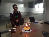 Staff birthday