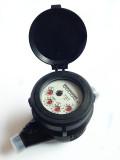 Multi Jet Dry Type Class B ISO 4064 Plastic Water Meter