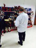 regular customers′ visits at showrooms