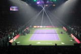 Uphos Equipment on WTA Finals Singapore 2014