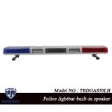 47 Inch Police Siren Warning Lightbar Built-in Speaker with Super Bright LEDs DC 12V