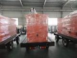 PORTABLE YUCHAI ENGINE GENERATOR with WHEEL and trailer