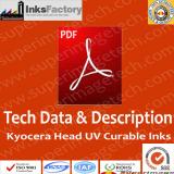 TDS & Description for Kyocera UV Curable Ink