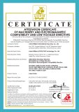 CE of label cutter