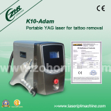 q-switch tattoo removal laser machine K10-Adma