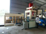 Non vibration block making machine in Vietnam