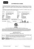ETL Certificates