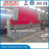 WC67Y-500x6000 heavy duty hydraulic steel plate bending machine