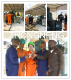Onsite Training for ZYD-100 transformer oil purifier in Africa