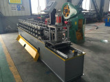 Saudi Arabia clients choose our roller shutter door machine