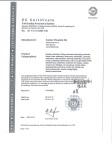 Ivoclar CE Certificate for Ceramic