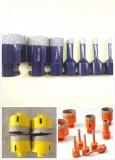 Vacuum brazed diamond tools