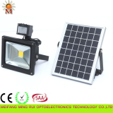 Solar panel Interaction flood light