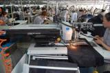 DURKOPP automatic pocket-hole sewing machine