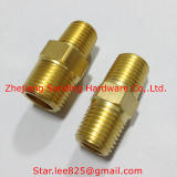 Brass pipe fitting/brass hydraulic hose fitting/