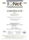 IQNET ISO9001 2008