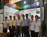 We are in CPHI Shanghai 2016