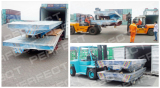 Ordered Trailer Transfer Carts Waiting for Delivery