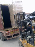shipping goods in 40 HQ , packing pic