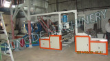 1.8meter three layer film blowing machine,automatic double winders