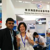 India customer in 2015 chinaplas