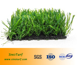 landscaping artificial grass with W-wave shape yarn