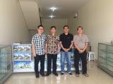 Meet customers in Indonesia