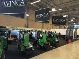 new green mink mixer machine on Denmark trade show
