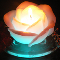 Rose Shaped LED Candle