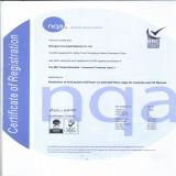 Food grade certification