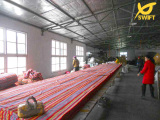 Hammock Factory Cutting Fabric
