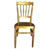 aluminum napoleon chair for wedding