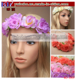 Flower Festival Wedding Garland Forehead BrowBand Hair Headband