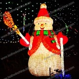 Snowman LED Christmas light for Festival decorating