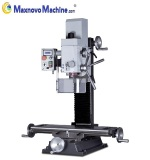 Stable Drilling Milling Machine with Variable Drive and DRO ( MM-BF20Vario, Maxnovo Machine )