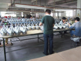 the lamps production line