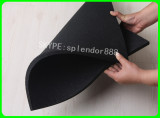 on Sale--1000*1000*15mm square shape rubber flooring with black color
