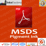 MSDS for Pigment Inks