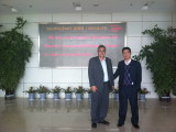 Lybia customer visit our company