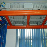 Full premeter pallets used on selective racks with sub-beam
