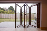 Folding patio door